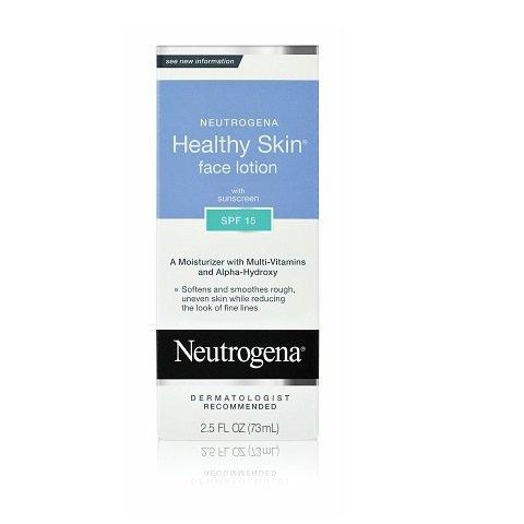 Neutrogena Healthy Skin Face Lotion with SPF 15 (2.5oz/ 73ml)