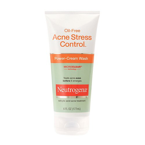 Neutrogena Oil-Free Acne Stress Control Power-Cream Wash  (6 fl. oz/ 177 ml)