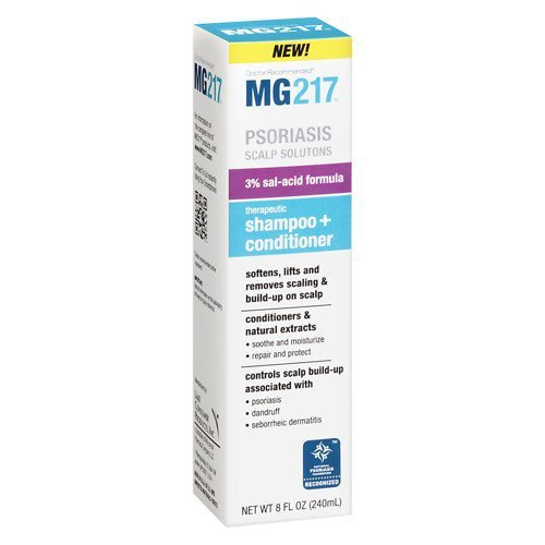 MG217 Salicylic Acid Therapeutic Shampoo plus Conditioner 8 fl oz (240 ml)