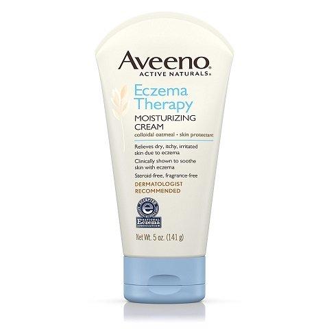 Aveeno Active Naturals Eczema Therapy Moisturizing Cream (5 oz /141g)