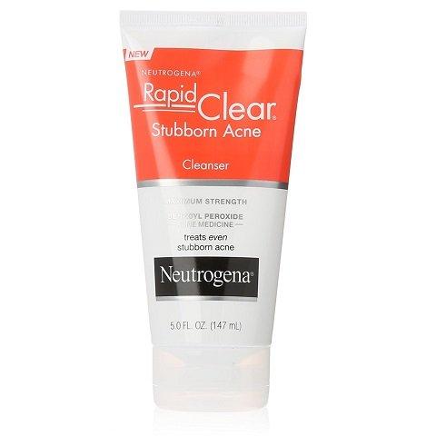 Neutrogena Rapid Clear Stubborn Acne Cleanser (5oz/ 147ml)