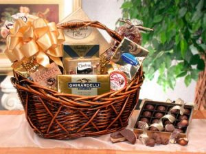 Chocolate Gourmet Gift Basket - CH061 (Shipping Alert Read Description)
