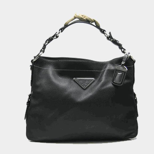 Prada Leather Handbag BN1229 Black