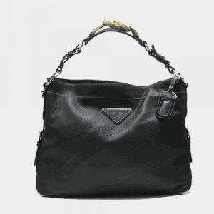 Prada Leather Handbag BN1229 Black