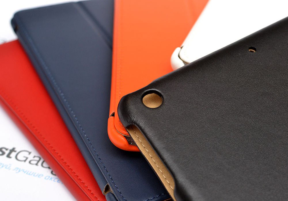 Ultra thin leather cover