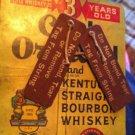 Crab Orchard Bourbon Bottle Attachment Circa 1930s