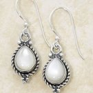Sterling Silver Mother of Pearl Dangle Earrings
