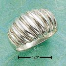 Sterling Silver Large Shrimp Ring Size 7