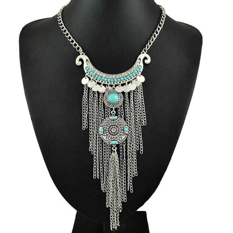 $15 Long Tassel Necklace