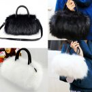 Rabbit Fur Designer Luxury Handbag