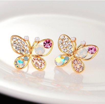 $5 Butterfly Stud Earrings