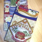 Campbell's - Double Sided Cloth Napkins - Set of 4