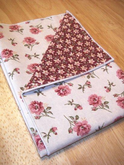 Tea Roses - Double Sided Cloth Napkins - Set of 6