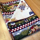 Picnic Piglets - Double Sided Cloth Napkins - Set of 4