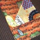 Harvest Moon Print - Double Sided Cloth Napkins - Set of 4