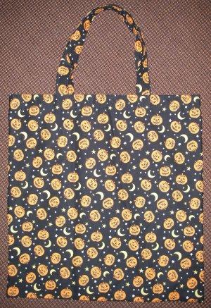 Jack O Lanterns - Reusable Trick or Treat Tote or Gift Bag