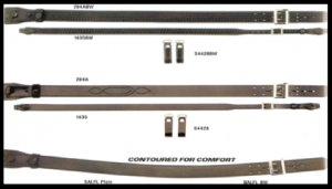 "1 3/4"" Velcro Garrison Belt, Basketweave ITEM# 13VBW"