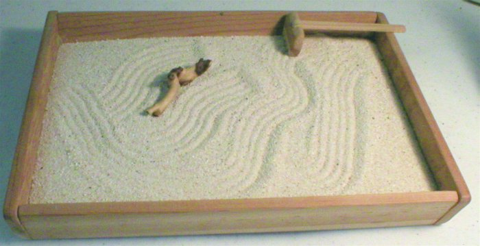 Beach Zen Garden