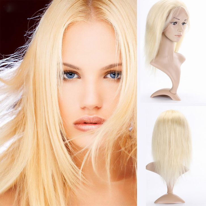 Blond Color Human Hair Wig