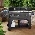 Gas and Charcoal Hybrid Grill