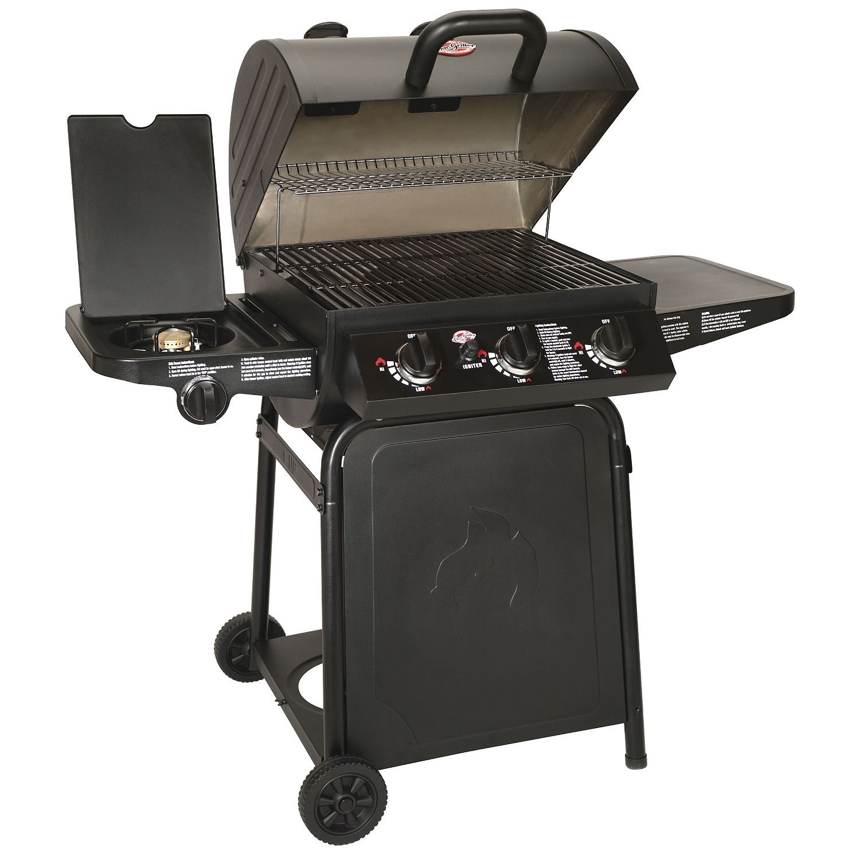 CharGriller Grillin' Pro Gas Grill - 3 Burner