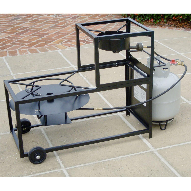 King Kooker Frying/Boiling Portable Propane Outdoor Cart Burner