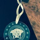 NIB VERSACE x Rosenthal Glass Christmas Ornament