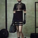 Alexander Wang x H&M Black Knit w/ Cut Out Short Sleeve Dress SZ M SOLD OUT