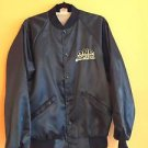 NWOT Promotional Varsity Jacket DNS Automotive NGK SparkPlug Blue SZ M