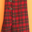 VTG Tartan Plaid Skirt SZ 24 Made In scotland