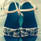 Simply Vera By Vera wang Platform sandals Jewel Detail Sz 6.5