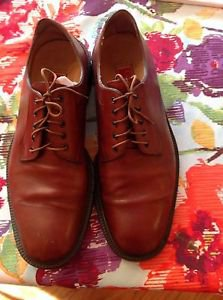 Authentic Cole Haan Country Brown Laceup Oxford Shoes Sz 10 1/2