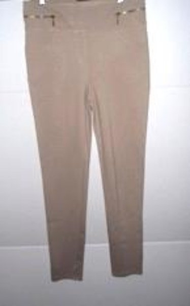 Pre-owned POTTER'S POT Women's Beige Stretch Pant Size M