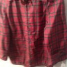 VTG EUC G. Gucci Plaid Lightweight Jacket Windbreaker SZ M