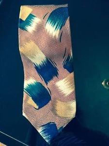 Perry Ellis Portfolio Bronze 100% Silk Neck Tie