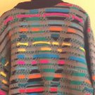 EUC VTG Coogi Multicolor 100% Mercerized Wool Sweater SZ XL COSBY BIGGIE HIPSTER