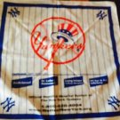 NWOT New York Yankees Promotional Scarf Cloth Continuum Health Partners