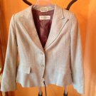 Authentic Max Mara pura seta 2 button rayon blend blazer SZ 10 Made in Italy