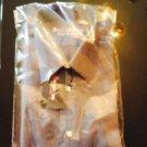 NIP BUCCELLI UOMO 100% Cotton Dark Gray Button Down Shirt SZ 41/16