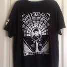 NWOT DAVE CHAPPELLE Black T-Shirt by Shepard Fairey 2014 Comedy Tour Sz L