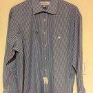 NWT Yves Saint Laurent Cornflower Blue Shirt Style 831109 SZ 16.5 R