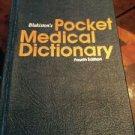 Blakiston's Pocket Medical Dictionary, 1979 -  4th Ed.