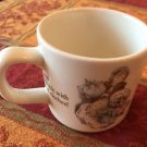 EUC WEDGWOOD MRS. TIGGY-WINKLE Beatrix Potter Porcelain Children's  Cup MUG