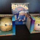 Lot of 2 VTG Doll Baby Heads & 1  Pre-Sewn Doll Body