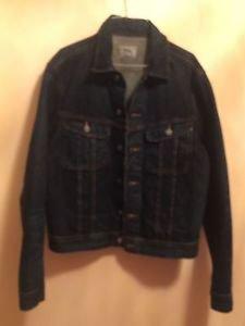 NWT POLO RALPH LAUREN Dark Blue Denim Jean Jacket SZ L $165 Retail