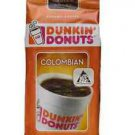 NIP DUNKIN' DONUTS COLOMBIAN COFFEE Ground Coffee 11 oz (Package of 2)