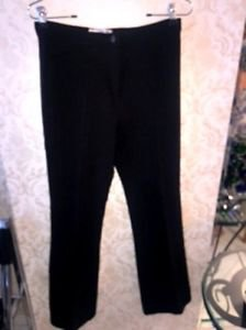 VGC Michael Kors Black Wool Blend Dress Pants SZ 8 Made in Italy