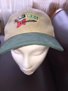 VTG Extremely KOOL Cigarettes Tan Snapback Hat Head Knots by KC Caps