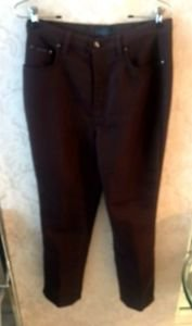 VGC Valentino Jeans Chocolate Brown Pants SZ 30 Made in Italy