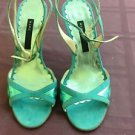 Marc by Marc Jacobs Sky Blue w/ Metallic Detail Strappy Sandal SZ 5.5 M Princess